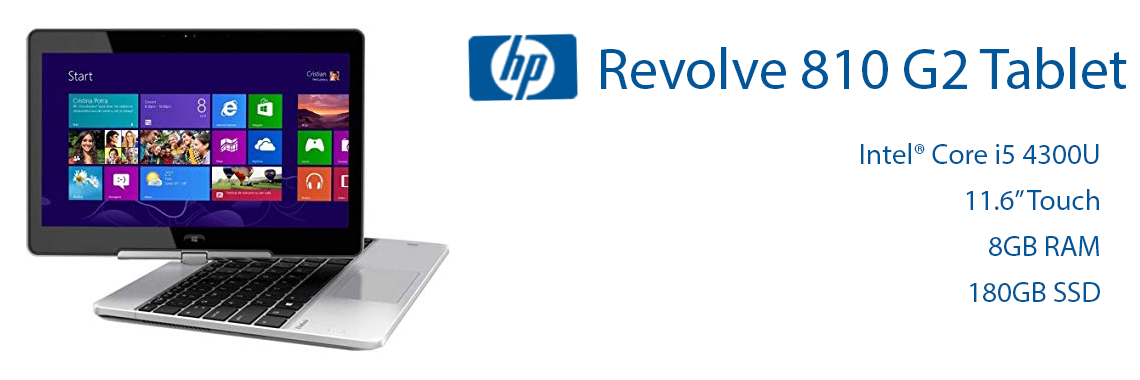 HP Revolve G2 Tablet